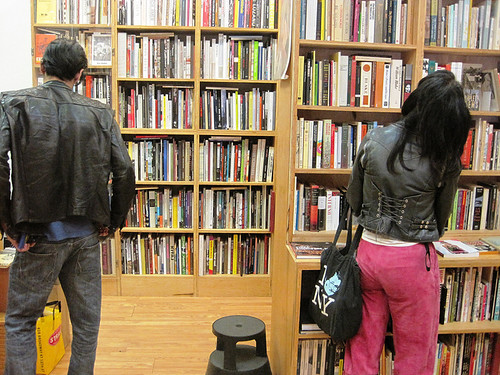Browsers at Mast Books