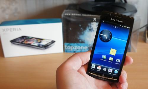 Xperia Arc: Naujasis Sony Ericsson Android 2.3 telefonas