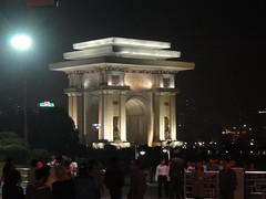 Arch of Triumph - Pyongyang (mikestuartwood) Tags: asian asia north korea communist communism korean socialist socialism northkorea dprk dpr northkorean dprkorea dprkorean