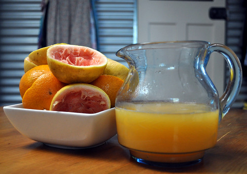 Home-grown Citrus Fruit Juice!