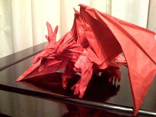 The Origami Forum View Topic Satoshi Kamiya Ancient Dragon
