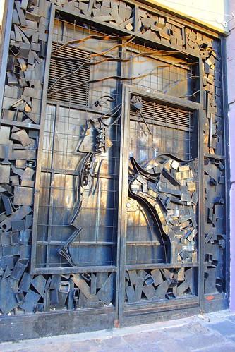 Creative and artistic doors