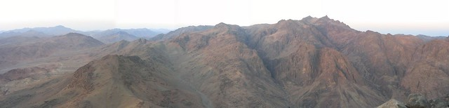 Panoráma: Mózes-hegy