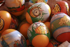 Real Eggs..... (Cj2u) Tags: easter painted eggs rabbits