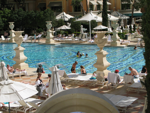 Pool at The Bellagio