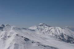 三段山と富良野岳