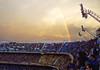 Tierra Santa II / Holy Land II (Pankcho) Tags: sunset sky argentina arcoiris atardecer football rainbow buenosaires stadium soccer explore sanjuan estadio cielo laboca 12 futbol boca bocajuniors bandejas bombonera sanmartín tribuna grada cabj bosteros xeneizes albertojarmando