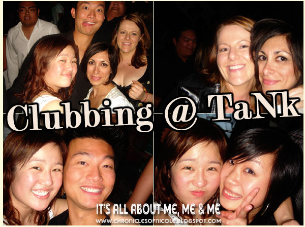 clubbing at tank