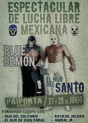 Espectacular de lucha libre mexicana by noise_armada
