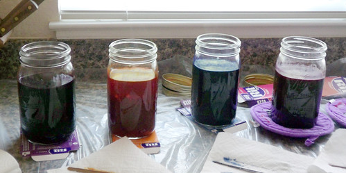 Dyeing our Denises: in the dye