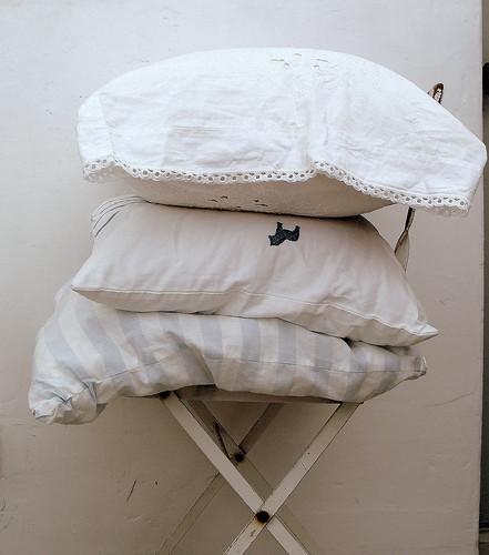 Detail of Pillows...