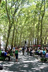 Bryant Park, New York City (courtesy of Project for Public Spaces)