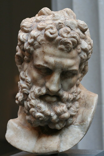 Marble Head of Herakles | Flickr - Photo Sharing!