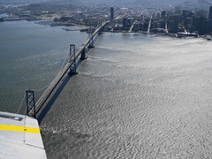 Liberty Belle B-17 Bomber / Aerial () Tags: sf sanfrancisco city bridge party vacation window plane airplane fly inflight aircraft altitude wwii flight wing jet thecity aerial b17 worldwarii baybridge ww2 windowview soire airforce bb bomber usaf suspensionbridge flyingfortress aereo airliner avion d1 b17bomber windowseat sfist airplanewing  areo jetwing saofrancisco libertybelle insidetheplane n390th  b17flyingfortress cabininterior ario  onerincon bombgroup 297849 interiorcabin  bombardmentgroup inthecabin