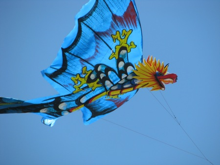 Kite Flying in Bali