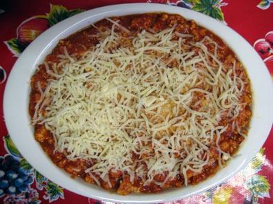 Lasagna (pre-oven)