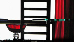 red dinner poetry poem curtain illusion myhouse supper conceptual diningtable metaphore untitledblue artisticexpression untitlism goldstaraward rotrossorougerood macintochchair