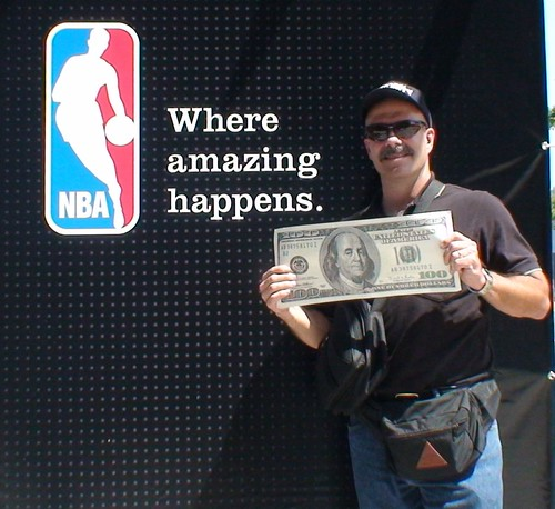 Tony with Giant Money