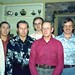 (L-R) Lonnie, Bobby, Carter, Steve, Pappaw, and Dennis - Christmas 1975