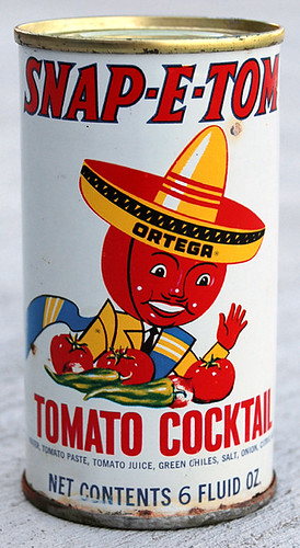 Snap-E-Tom Tomato Cocktail, 1960's