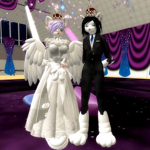 L$335k Alienbear's King & Queen Crown_RFL !!