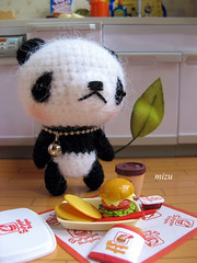hi, I'm Yo (:: Hello Mizu ::) Tags: bear panda plush rement amigurumi mizu