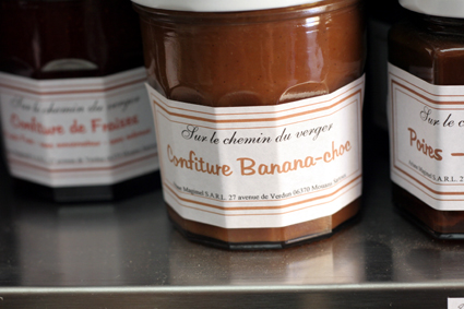banana chocolate jam