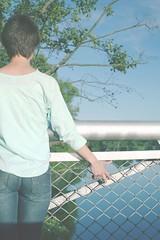 автопортрет 90й день (tomato_senya) Tags: blue trees summer selfportrait colour me water bodylanguage 365ru