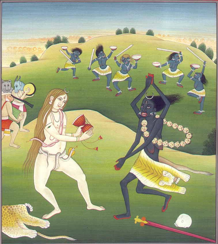 Dance of Shiva and Kali