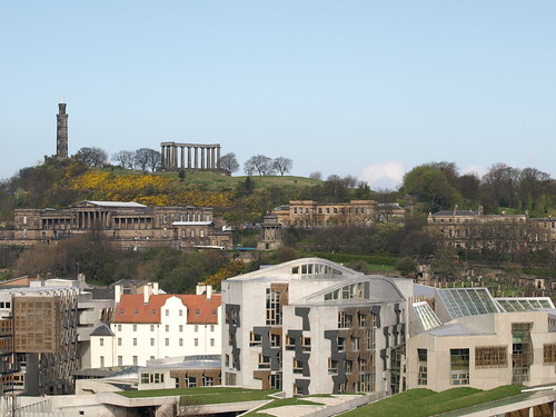 Scottish Parliament & Edinburgh's Folly
