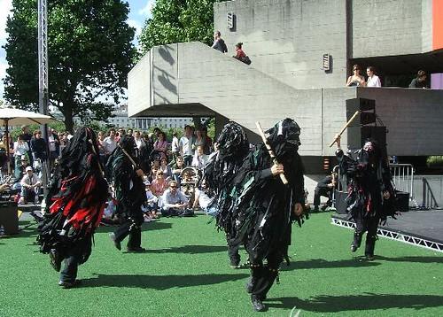 Wild Hunt morris dancers