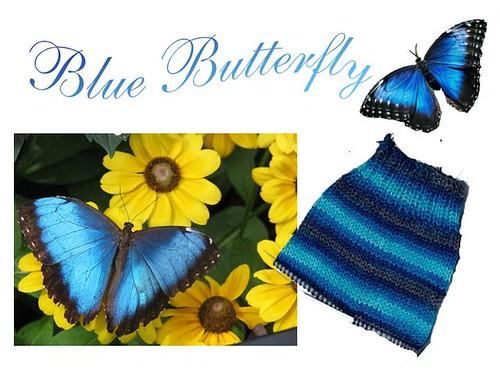 Promo Blue Butterfly par vous