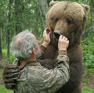 Charlie Vandergaw & his bears.