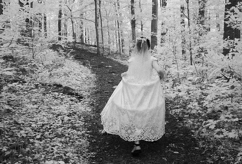Bride on a Path
