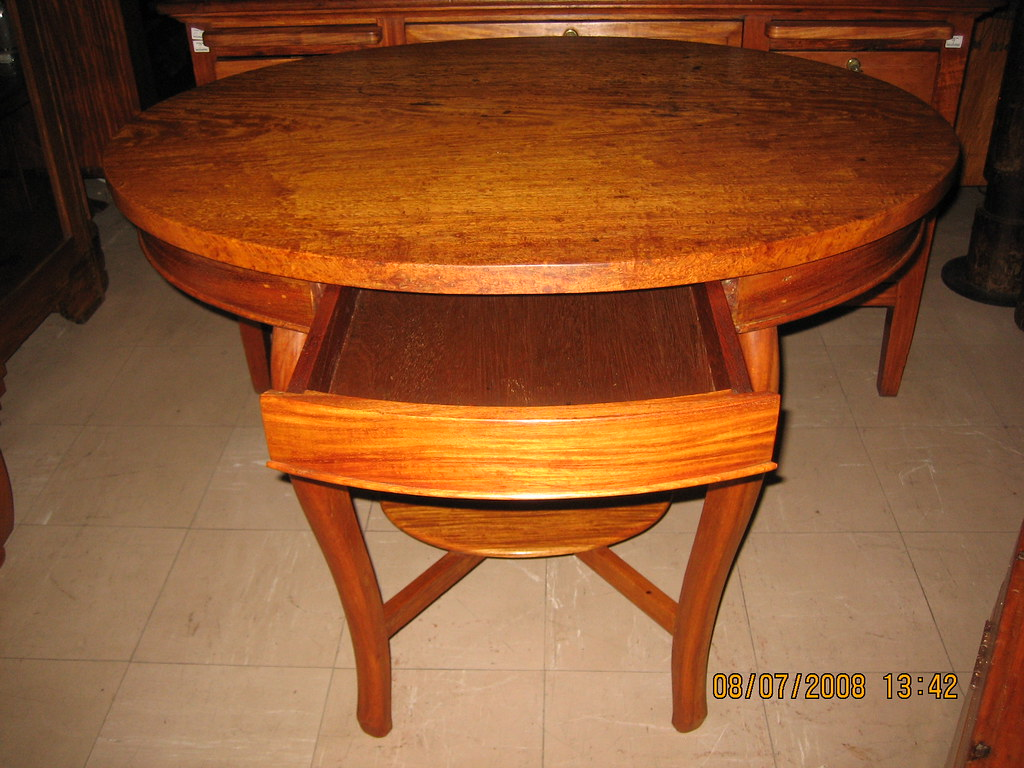 Antique Oval Table