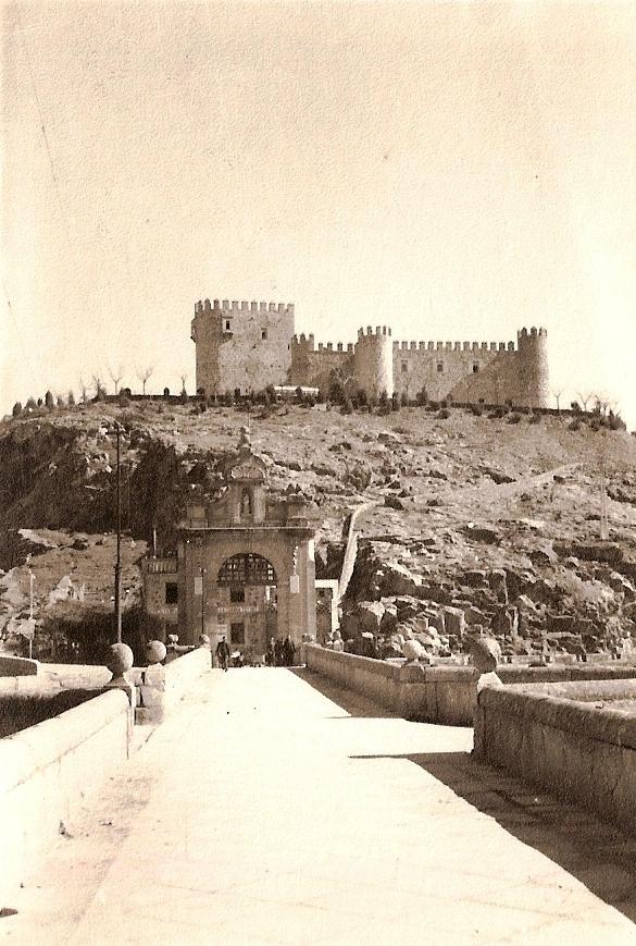 Castillo de San Servando, años 50. Fotografía de Eduardo Butragueño Bueno