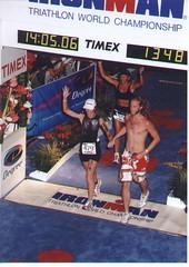 John and Mom finish