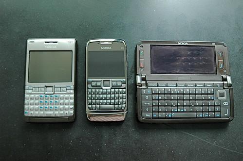 Nokia E61i E70 E90