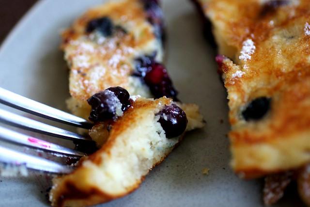 blueberry pancake love
