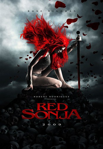 Red Sonja teaser poster by mediaatmidnight.