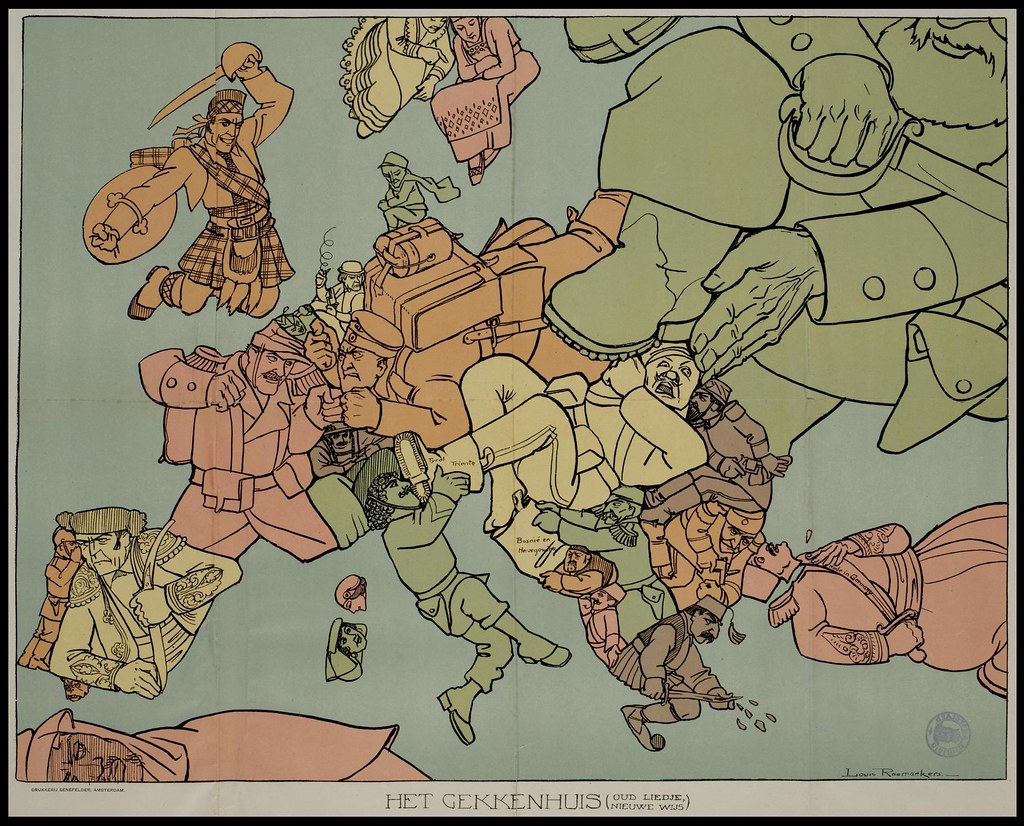 2721592095 f9ccd02810 b Satirical Maps of Europe
