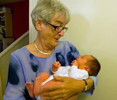 Grandma visiting