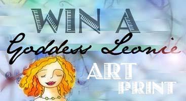 Winner of the Goddess Leonie Art print