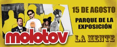 Banner Molotov