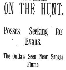 evans escapes
