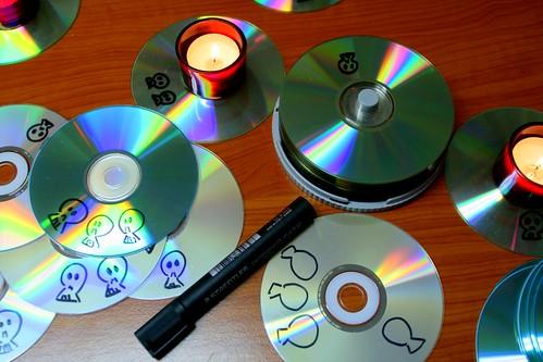 CD-ROM coasters
