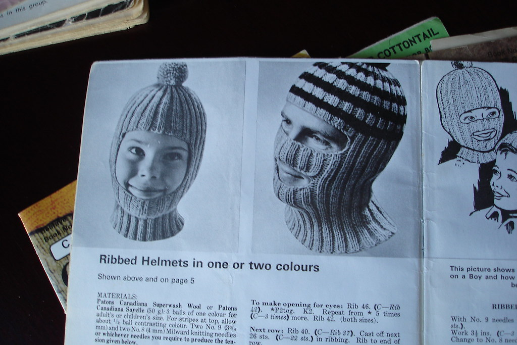 The Coveted Ribbed Helmet