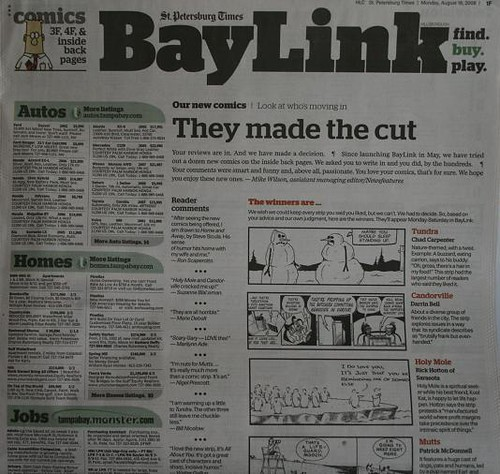Baylink comics poll