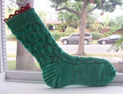 Embossed Leaf Sock v1.5