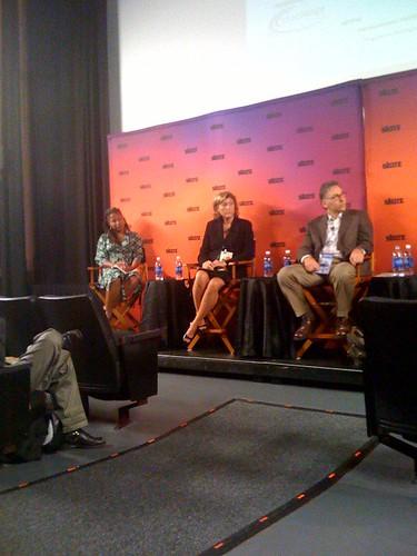 Majora Carter, Aimee Christensen, Dan Carol (L-R)